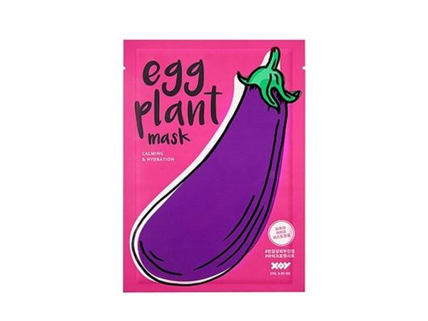 XOY Eggplant Sheet Mask