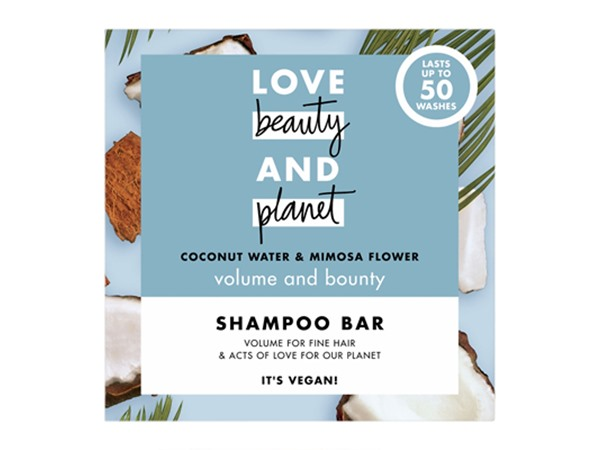 Love Beauty Planet Volume & Bounty Coconut Water And Mimosa Flower Shampoo Bar