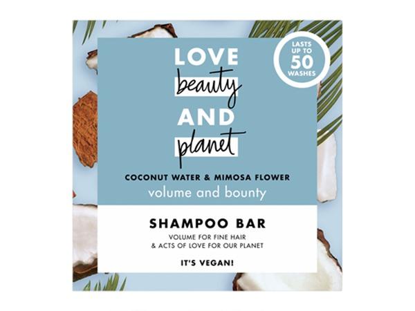 Volume & Bounty Coconut Water And Mimosa Flower Shampoo Bar