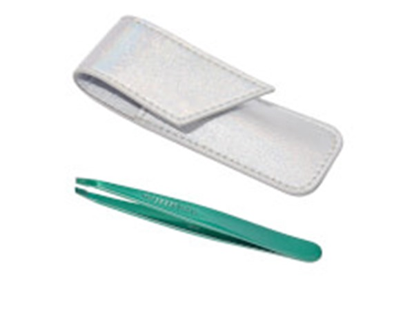Emerald Eve Tweezer & Pouch