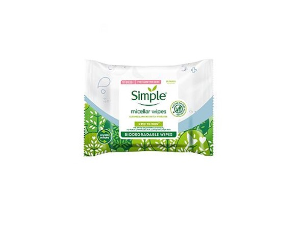 Biodegradable Micellar Cleansing Wipes