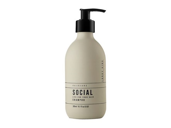 Larry King Hair Care A Social Life Shampoo