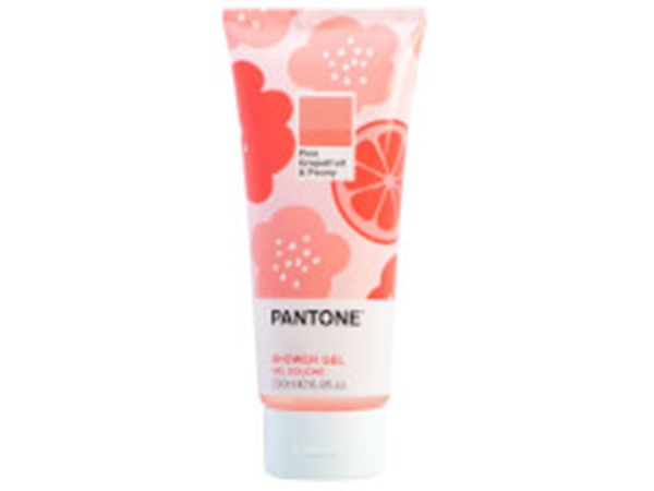 X Pantone Pink Grapefruit & Peony Shower Gel