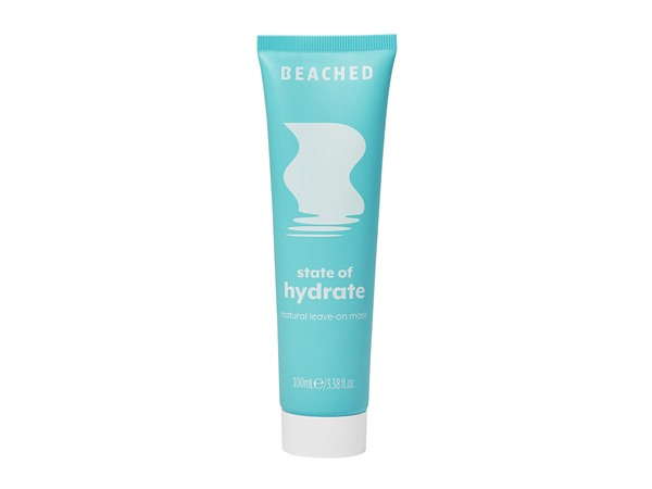 Beached State Of Hydrate Natural Leave on Mask