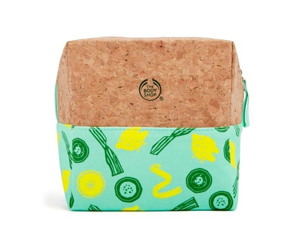 Lemon & Cucumber Cosmetics Bag