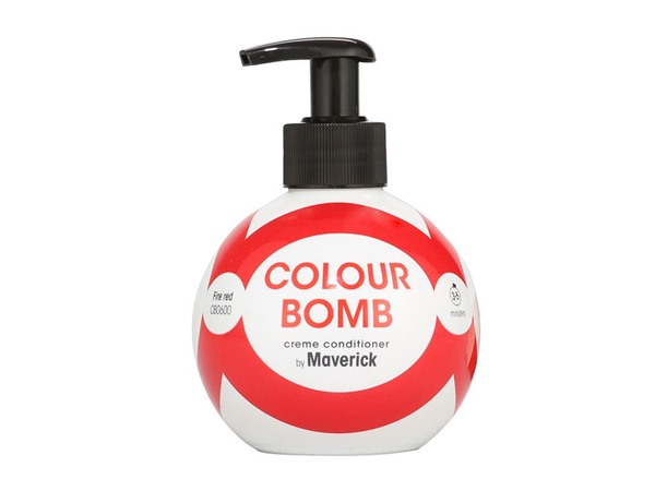 Colour Bomb Crème Conditioner Fire Red