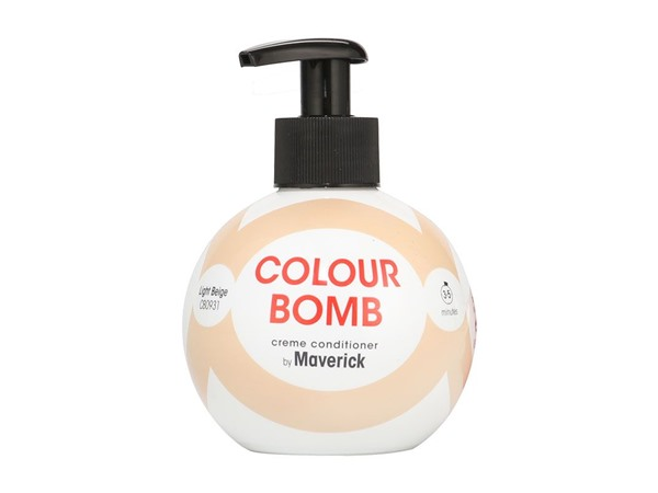 Colour Bomb Crème Conditioner Light Beige