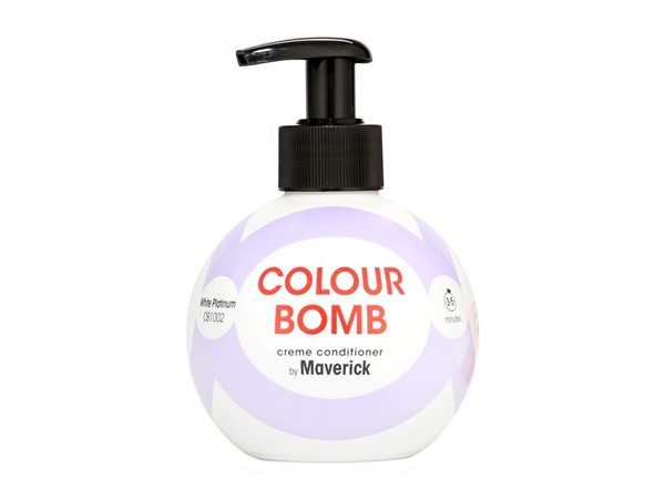 Colour Bomb Crème Conditioner White Platinum