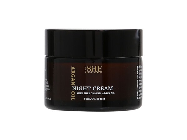 SHE Om  Argan Oil Night Cream