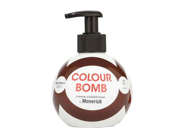 Colour Bomb Crème Conditioner Deep Chestnut