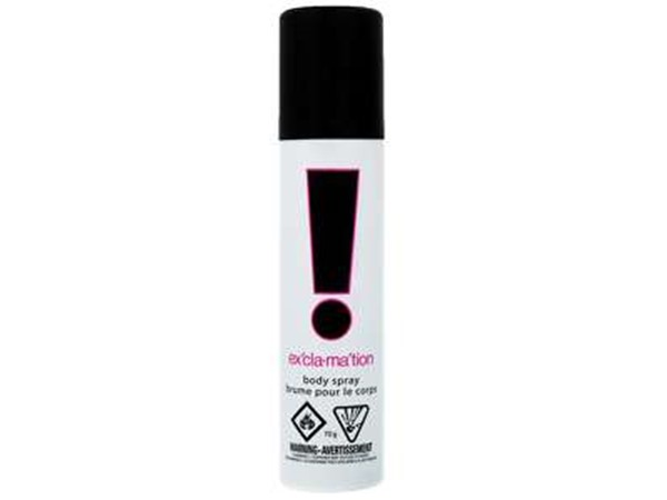 Coty Exclamation Cologne Body Spray