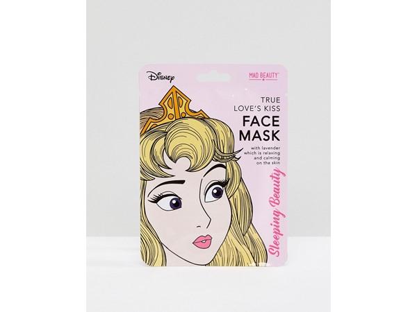 M.A.D Beauty Sleeping Beauty Relaxing Lavendar Sheet Face Mask-No Colour
