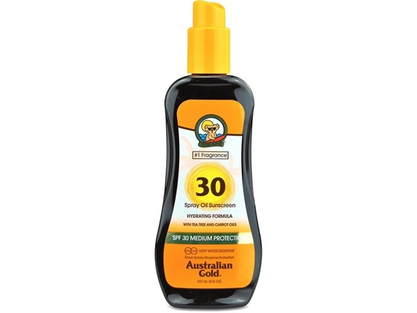 Australian Gold Spf 30 Spray Oil With Carrot