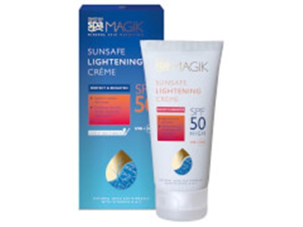 Dead Sea Sunsafe Spf50 Lightening Crème