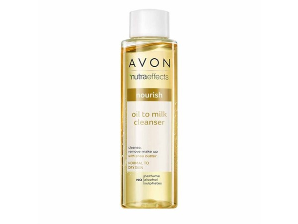 Avon Nutra Effects Nourishing Oil To Milk Cleanser