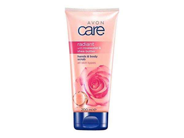 Avon Radiant Rosewater & Shea Butter Hands & Body Scrub