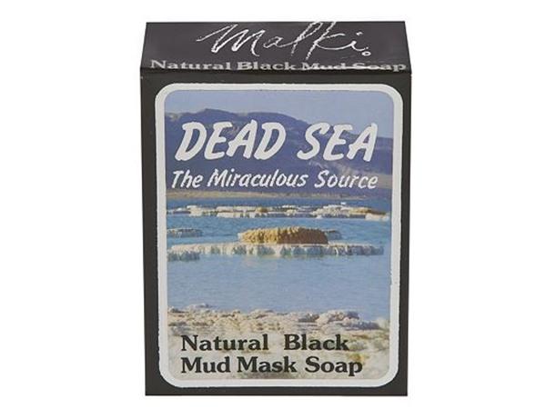 Dead Sea Natural Black Mud Mask Soap