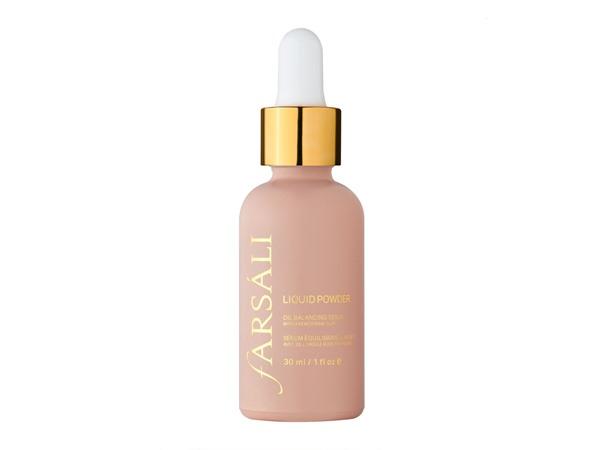 FARSÁLI Liquid Powder Oil Balancing Serum With French Pink Clay