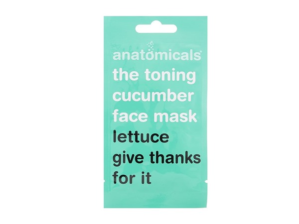 Anatomicals Lettuce Give Thanks Toning Cucumber Face Mask