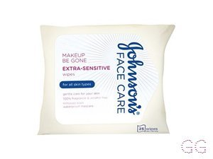 Johnson's Makeup Be Gone Extra-Sensitive Wipes