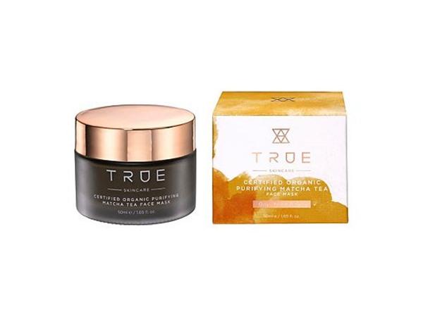 True Skincare Certified Organic Purifying Matcha Tea Face Mask