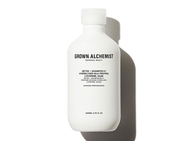 Grown Alchemist Detox Shampoo Hydrolyzed Silk Protein, Lycopene, Sage