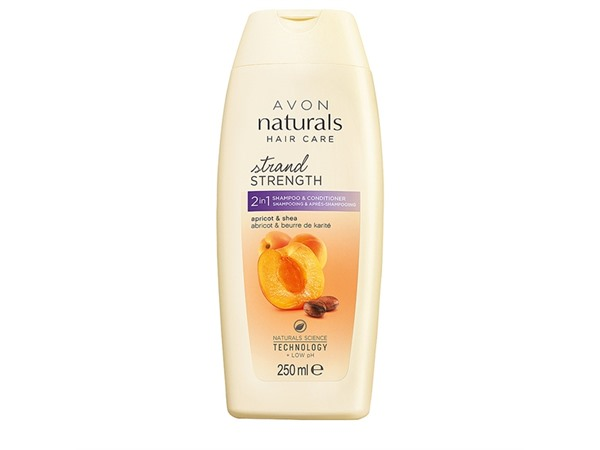 Apricot & Shea Butter 2-In-1 Shampoo & Conditioner