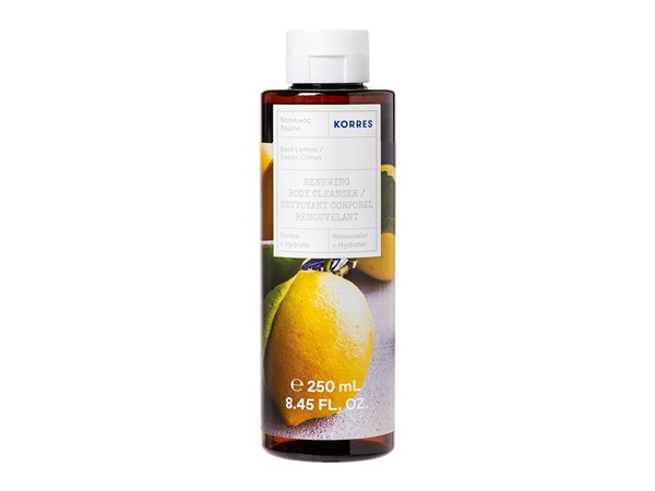 Basil Lemon Renewing Body Cleanser