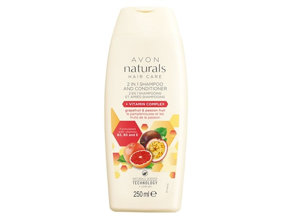 Avon Grapefruit & Passion Fruit 2-In-1 Shampoo & Conditioner