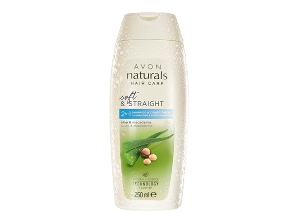 Avon Naturals Aloe & Macadamia 2-In-1 Shampoo & Conditioner