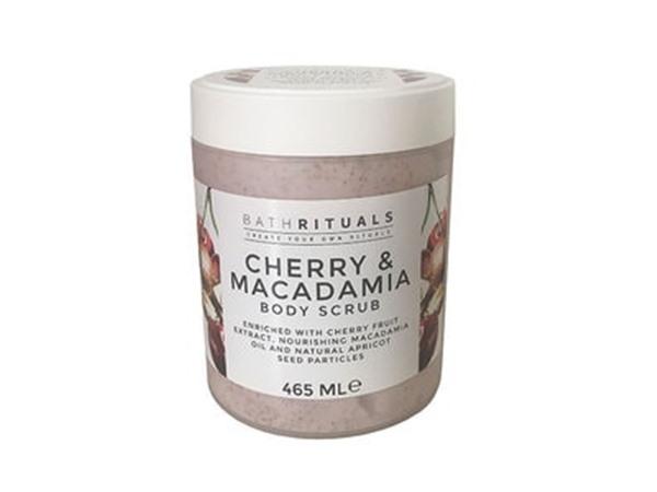 Bath Rituals Cherry And Macadamia Body Scrub