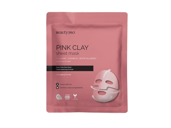 Beauty Pro Pink Clay Mask