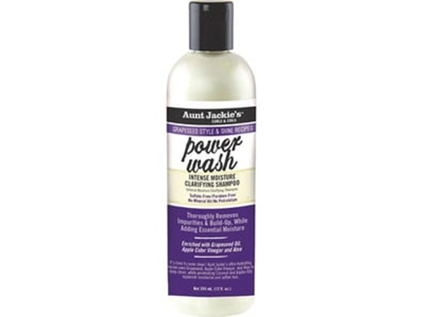 Aunt Jackie's Power Wash Grapeseed Clarifying Shampoo