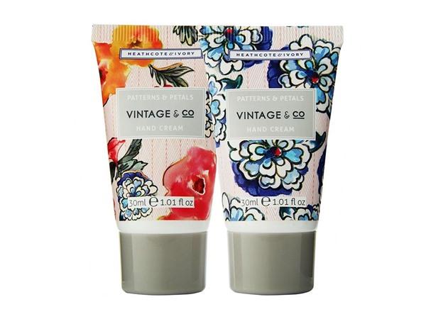 Vintage & Co Patterns & Petals Hands On The Go Bag