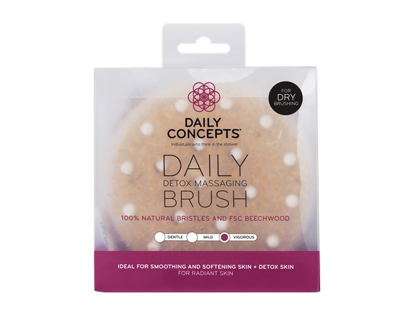 Daily Concepts Detox Massage Brush Accessories