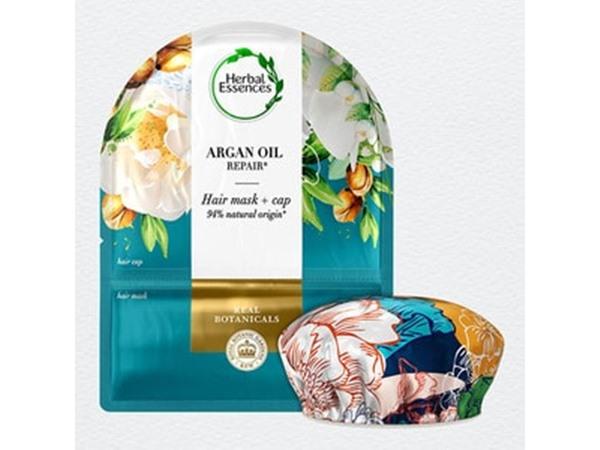 Herbal Essences Deep Repair Argan Oil Hair Mask Cap
