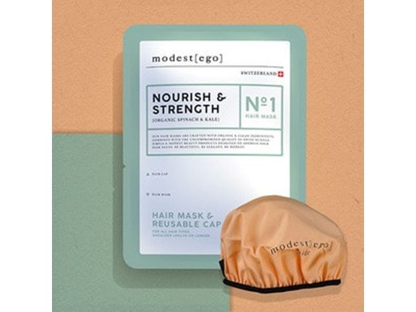Modest Ego Spinach Kale Restore Hair Mask Cap