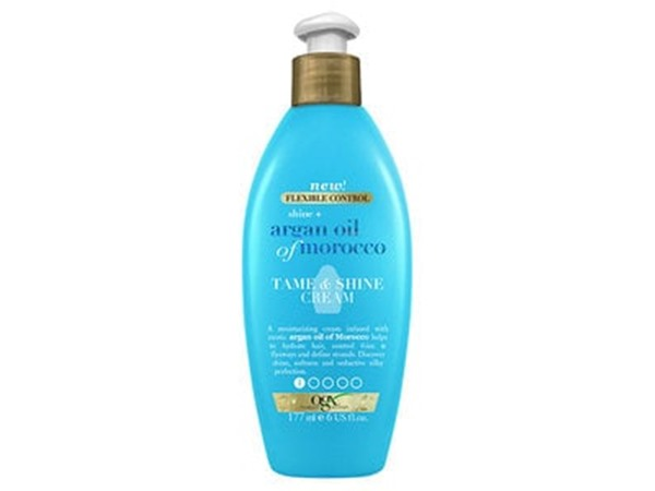 Shine + Argan Oil Of Morocco Tame Shine Cream