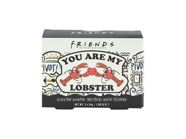 Friends You Are My Lobster Bath Fizzer