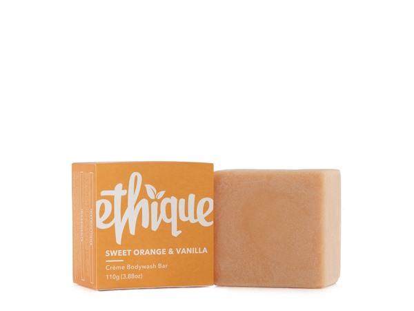 Ethique Sweet Orange & Vanilla Crème Bodywash Bar