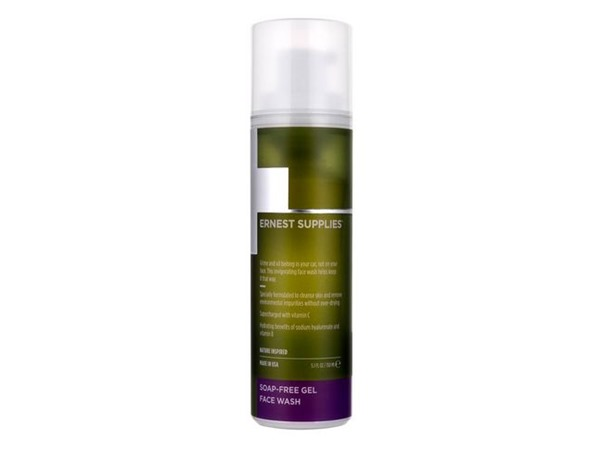 Ernest Supplies Soap-Free Gel Face Wash
