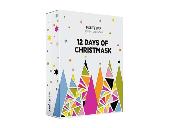 Beauty Pro Beautypro 12 Days Of Christmask Advent Calendar