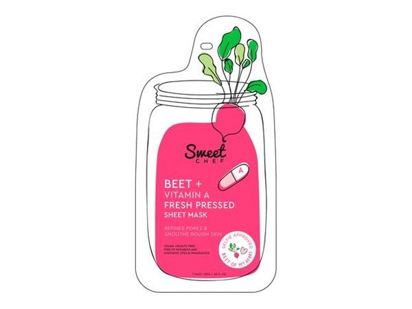 Sweet Chef Beet + Vitamin A Fresh Pressed Sheet Mask