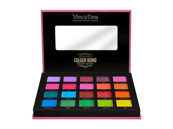 Viva La Diva Colour Bomb Eyeshadow Collection