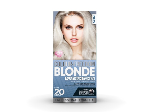 Colour-Freedom Blonde BLONDE Platinum Toner