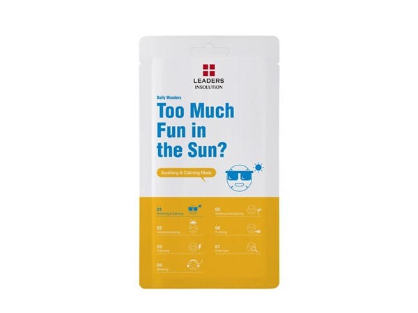 Leaders Daily Wonders Too Much Fun In The Sun? Soothing & Calming Mask