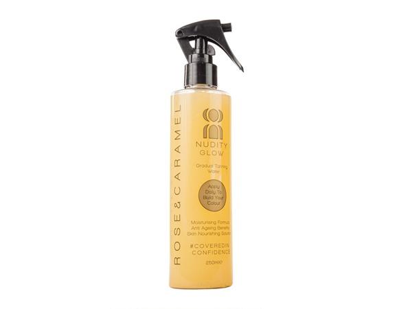 Rose & Caramel Nudity Glow Gradual Tanning Spray