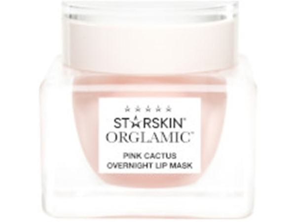 Orglamic Pink Cactus Foaming Lip Mask Nourish And Plump