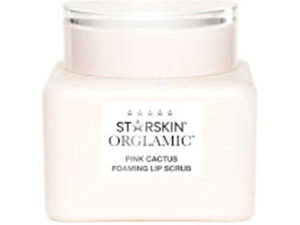 Orglamic Pink Cactus Foaming Lip Scrub Exfoliate And Smooth