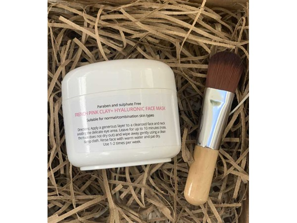Skin by Katy French Pink Clay+ Hyaluronic Face Mask